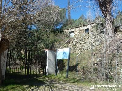 Azud del Mesto - Cascada del Hervidero;nacimiento del río cuervo la barranca navacerrada